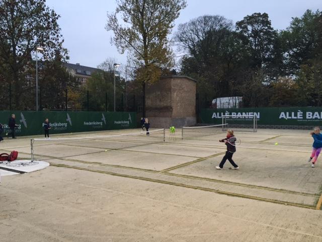 Allé Banen er tiltænkt børn, som spiller enten tennis eller fodbold. (Foto: FrederiksbergFonden)